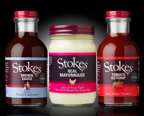 Rebranding Stokes metal packaging