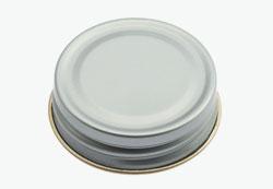 Tin plate screw cap 38mm-recessed