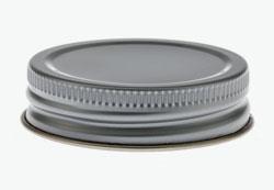 Tin plates screw cap 43mm-recessed