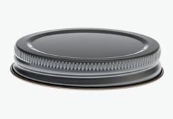 Tin plates screw cap 53mm-recessed