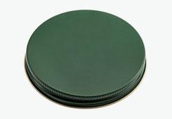 Tin plate screw cap 70mm flat